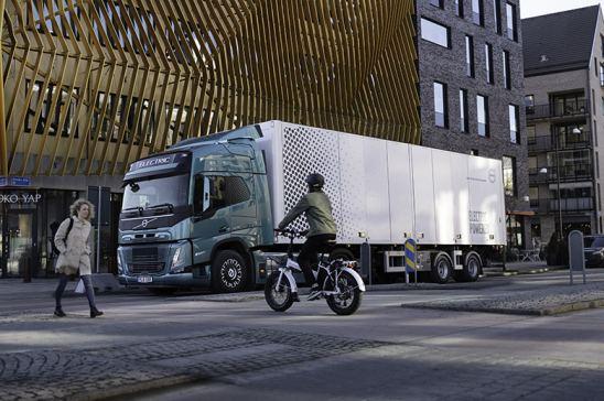 Volvo Trucks incrementa la seguridad de sus camiones eléctricos