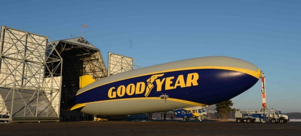 Blimp de Goodyear
