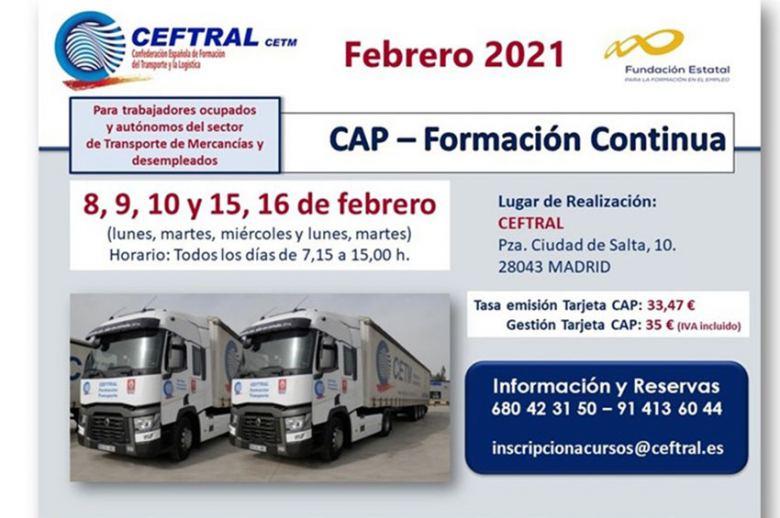 Curso CAP de CEFTRAL