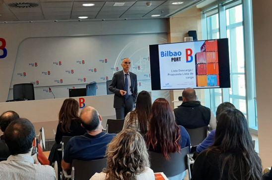 El Puerto de Bilbao pone en marcha la lista de descarga electrónica en su plataforma telemática