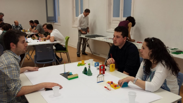 Taller en Business Game Play del Máster CETM