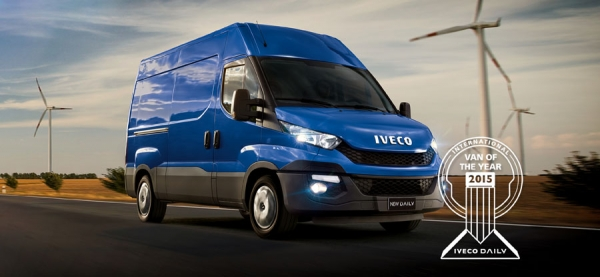 Iveco Daily, Van of the Year 2015