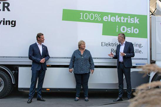 Volvo FL y DB Schenker Oslo