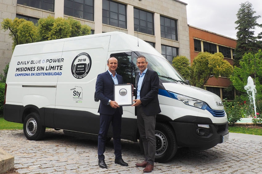 Iveco recibe el premio International Van of the Year 2018