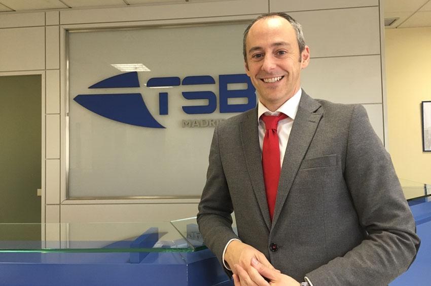 Miguel Ferrándiz, nombrado director comercial de TSB Madrid