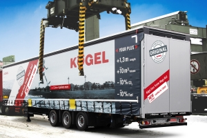 Kögel Euro Trailer Mega Rail