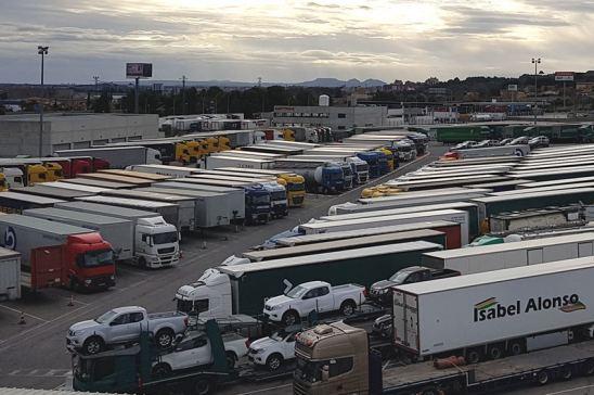 Áreas de estacionamiento