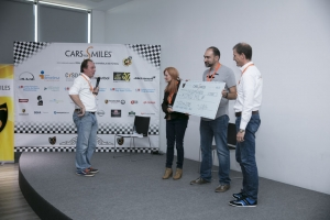 Antonio Albacete en el evento de Cars for Smiles
