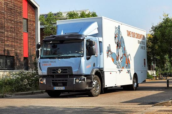 Premio al Renault Trucks D Wide 320