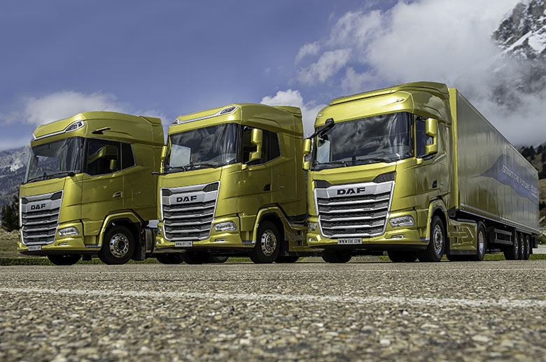 DAF estrena su nueva generación de camiones