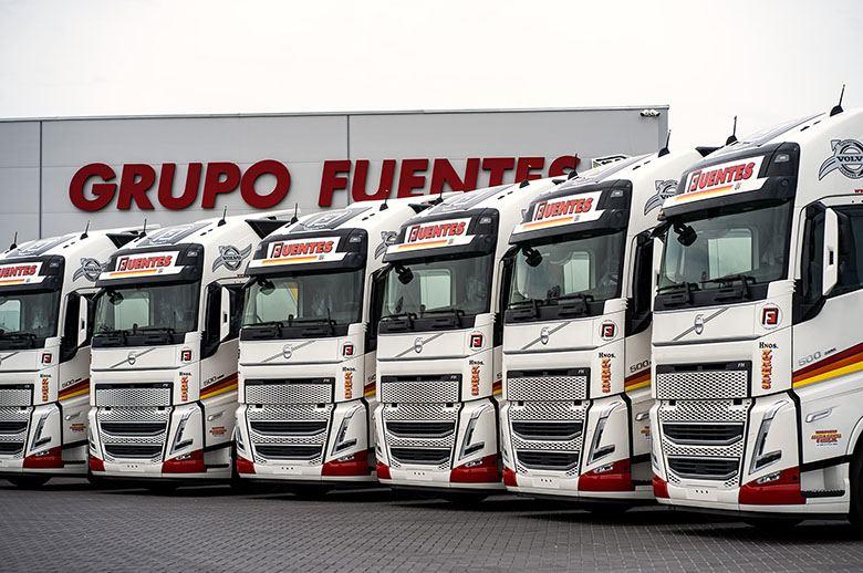 Grupo Fuentes recibe las primeras unidades del nuevo Volvo FH