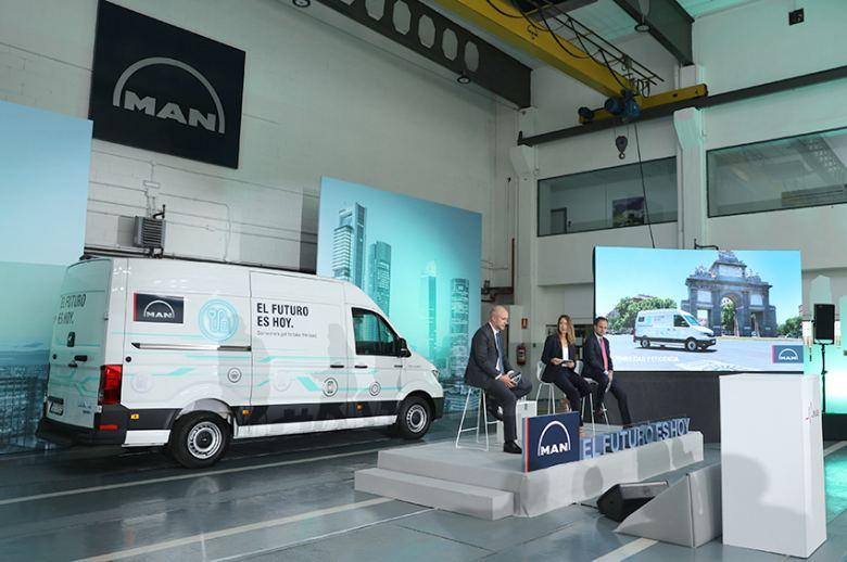 MAN Truck & Bus presenta la furgoneta eléctrica eTGE