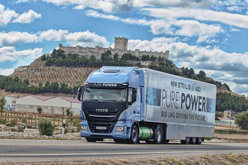 Prueba camion Iveco Stralis AS440S46T/P LNG