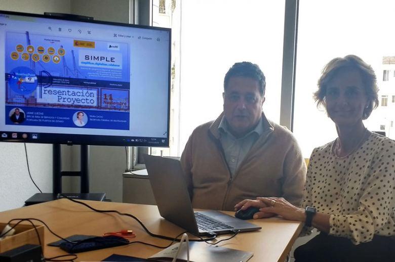 Digitalización e interoperabilidad de la cadena logística en el meeting point de AEUTRANSMER
