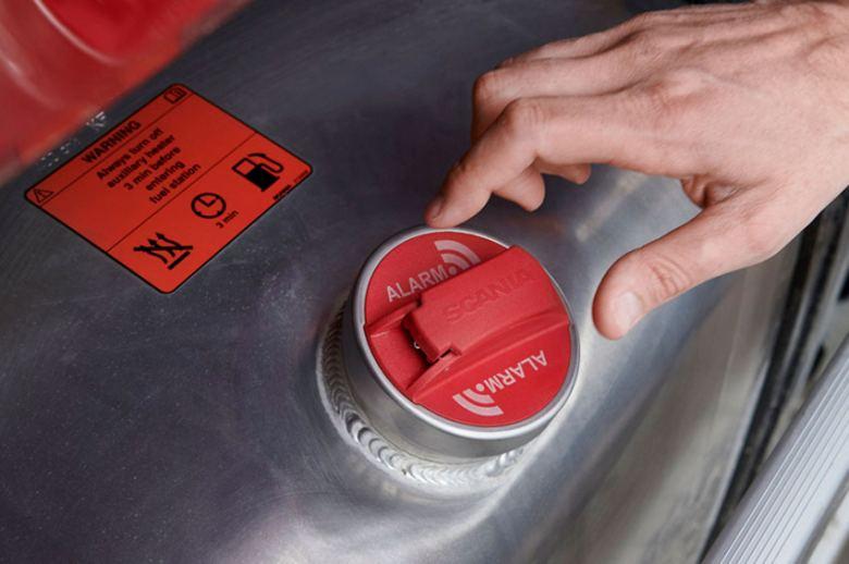 Scania lanza una nueva alarma antirrobo de combustible