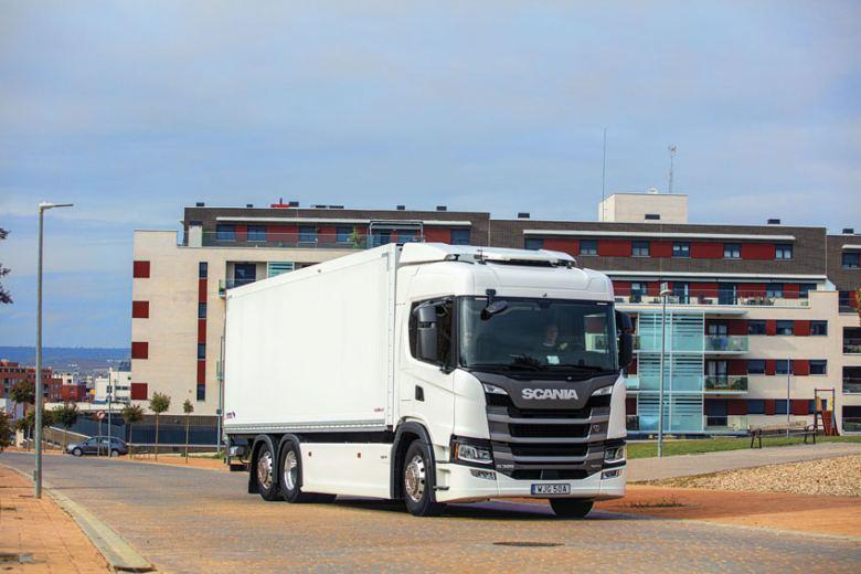 Contacto camion: Scania G 320 B6X2 híbrido