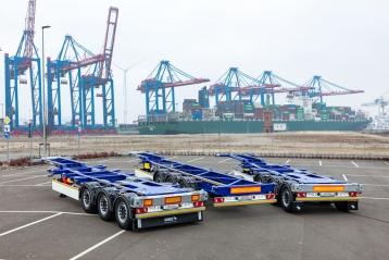 Los portacontenedores vuelven a la cartera de productos de Schmitz Cargobull