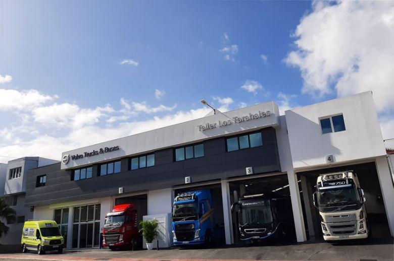 Los Tarahales, nuevo servicio oficial de Volvo Trucks en Gran Canaria