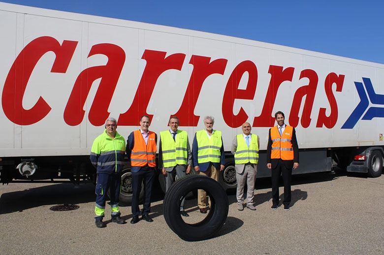 Michelin y Carreras, una asociación para la mejora del transporte