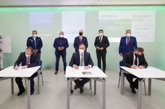 Siemens construirá una instalación de almacenamiento de baterías