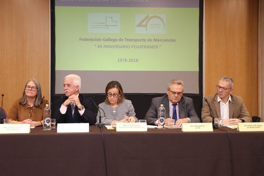 Fegatramer cumple 40 años defendiendo el transporte gallego