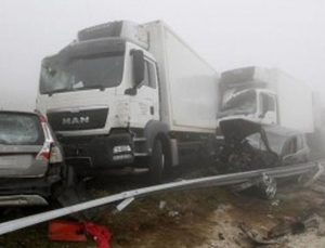 Accidente en la A-8