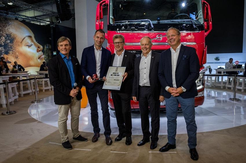 Volvo alcanza el millón de camiones FH vendidos