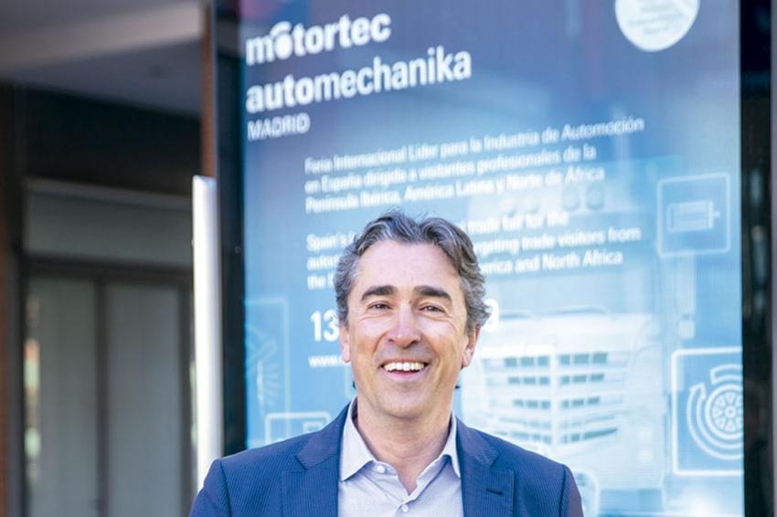Entrevista con David Moneo, director de Motortec Automechanika Madrid