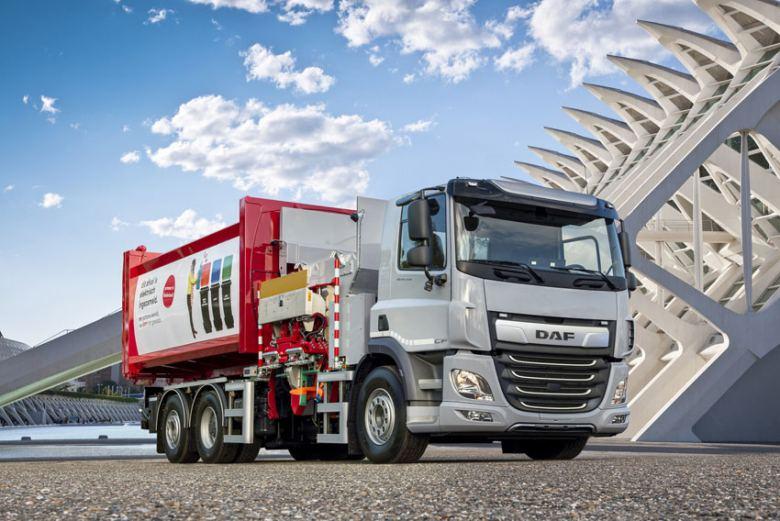 DAF Trucks lanza al mercado el CF Electric con chasis rígido 6x2