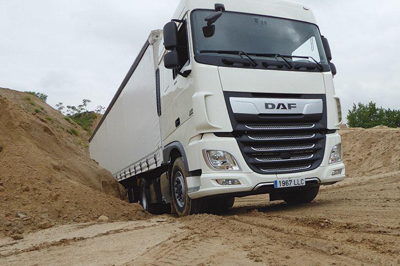 Llega el primer camión 4x4 de DAF