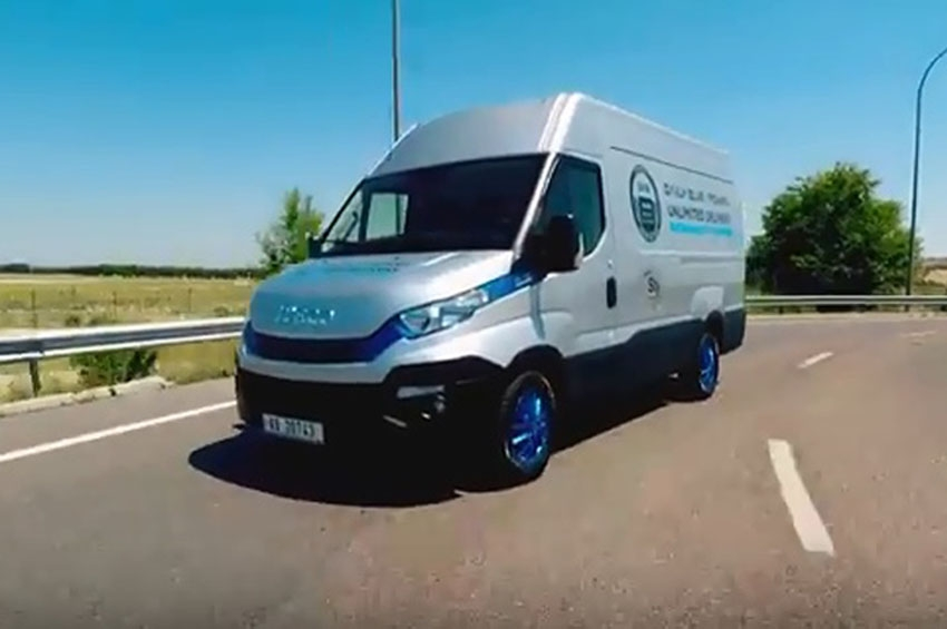 Iveco Daily Blue Power NP, transporte urbano sostenible