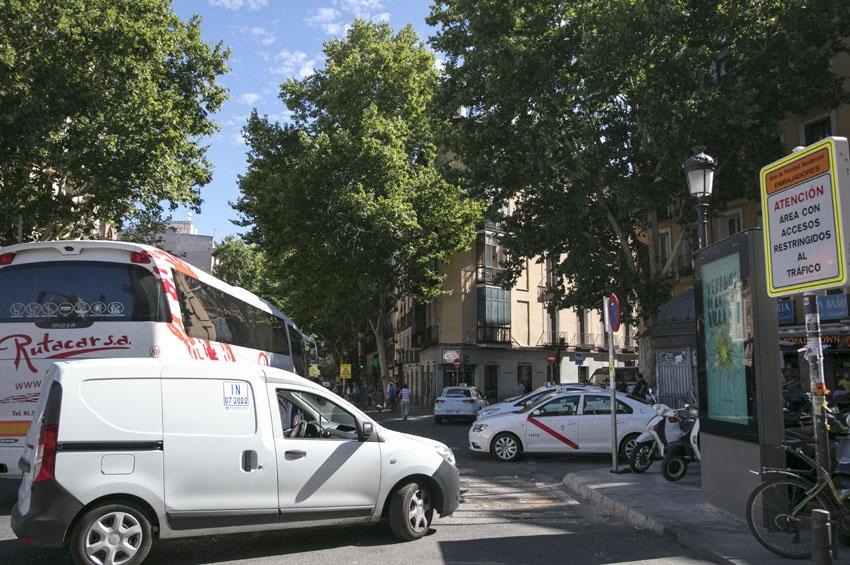 """El transporte de mercancías madrileño denuncia que Madrid Central """"ha sido fruto de la imposición y la improvisación"""""""