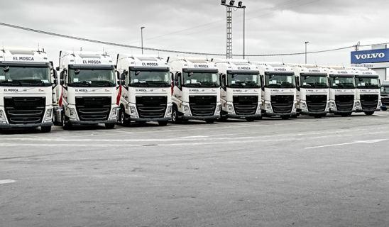 El Mosca apuesta por Volvo Trucks