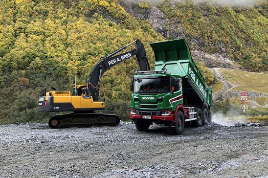 La empresa de construcción Per A Oren AS, de Noruega, utiliza cajas de cambio automáticas Allison Transmission