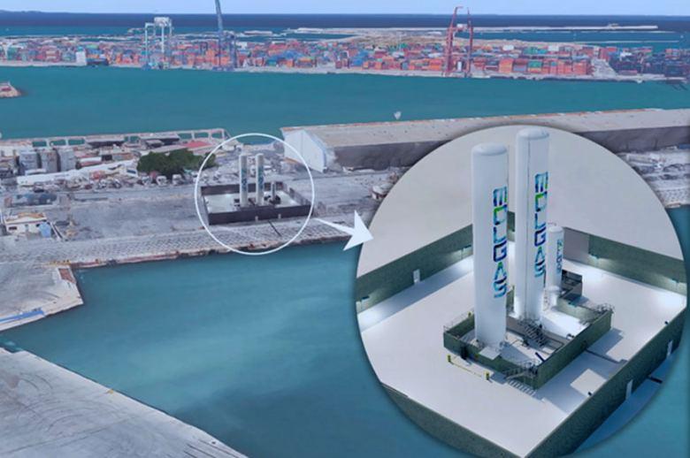 Molgas abrirá una gasinera de GNL en el Puerto de Valencia