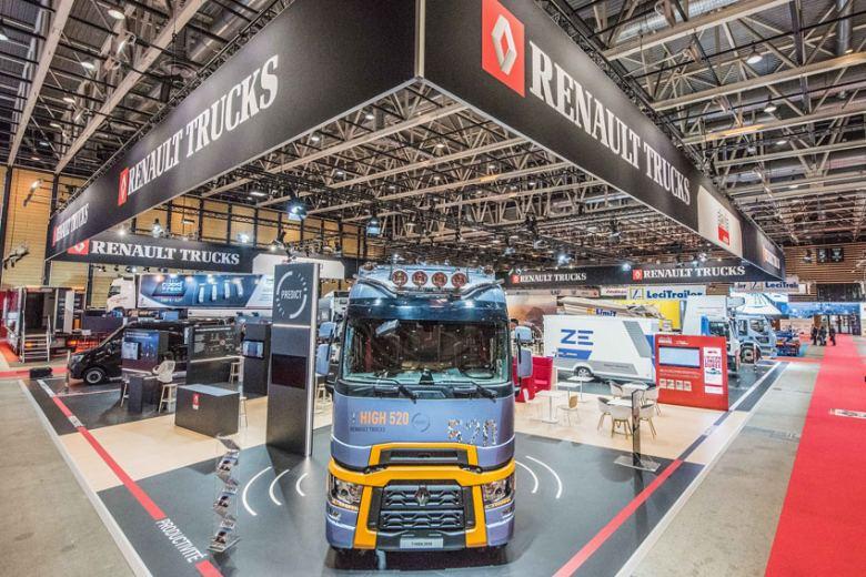 Renault Trucks en Solutrans, productividad y conectividad