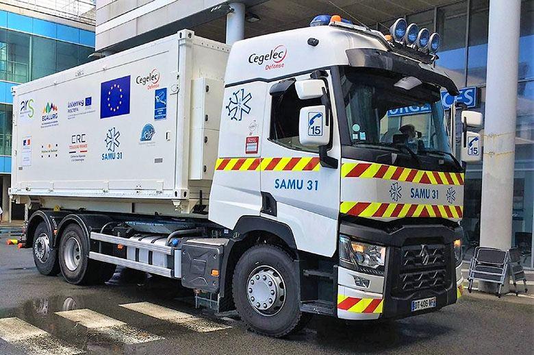 Renault Trucks convierte un camión de la Gama T en una unidad móvil