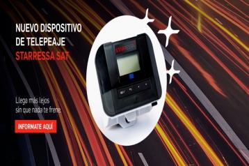 Nuevo dispositivo profesional de telepeaje StarRessa Sat
