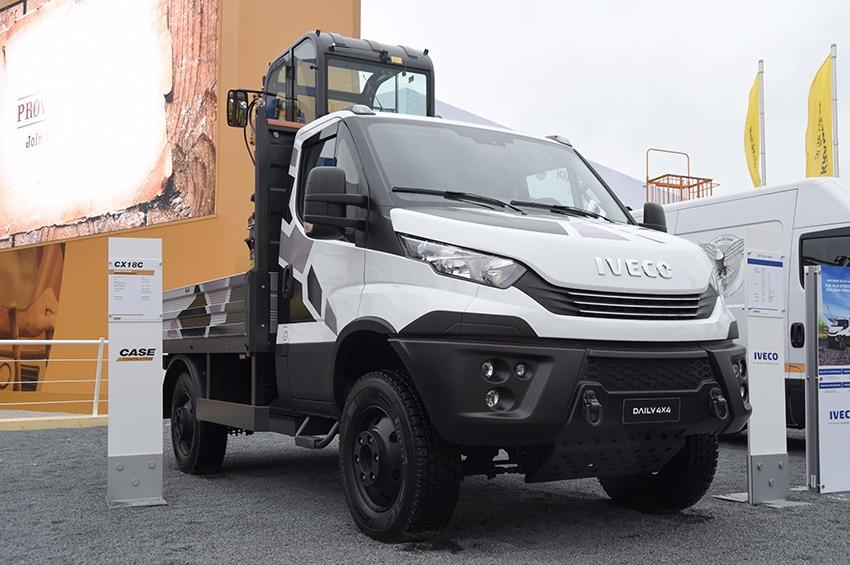 Iveco presenta en Bauma la última generación de la Daily 4x4
