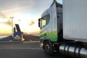 Scania lleva un camión de gas natural de Castellón a Estocolmo