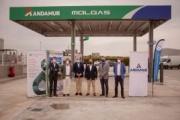 Andamur y Molgas inauguran su primera gasinera en Guarromán (Jaén)