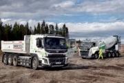 Volvo Trucks prueba camiones eléctricos para la construcción