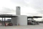 Ya se puede repostar gas natural comprimido en la 'gasinera' del Grupo HAM de Villarreal