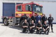 Scania y la UME contra los incendios forestales
