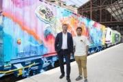El arte urbano español decora el Tren de Noé
