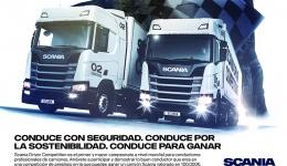 Scania busca al mejor conductor de camiones de Europa