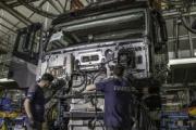 La producción de vehículos comerciales e industriales crece en marzo un 7,4%