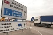 Cataluña publica las restricciones al transporte pesado para 2018