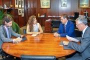 El Puerto de Huelva presenta sus proyectos a la presidenta de Puertos del Estado