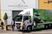 Friedrich Wenner recibe su primer MAN eTGM 100% eléctrico en Alemania